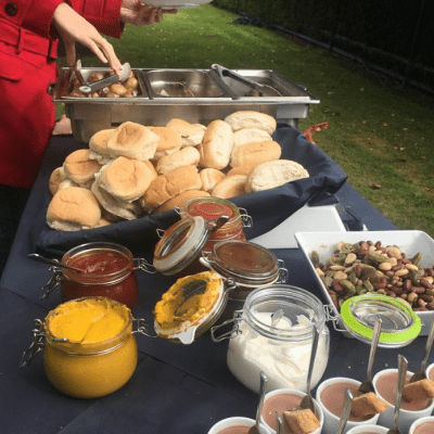 Self service BBQ catering
