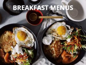 Breakfast Sample Menu Link