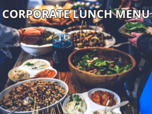 Coroporate Lunch Sample Menus Link