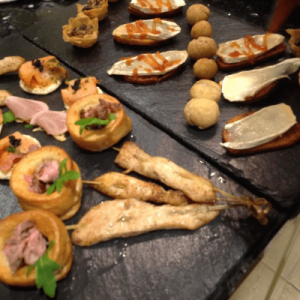 A scrumtious range of starters for an event in Hall Green, Birmingham