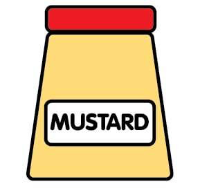 Mustard is an allergen